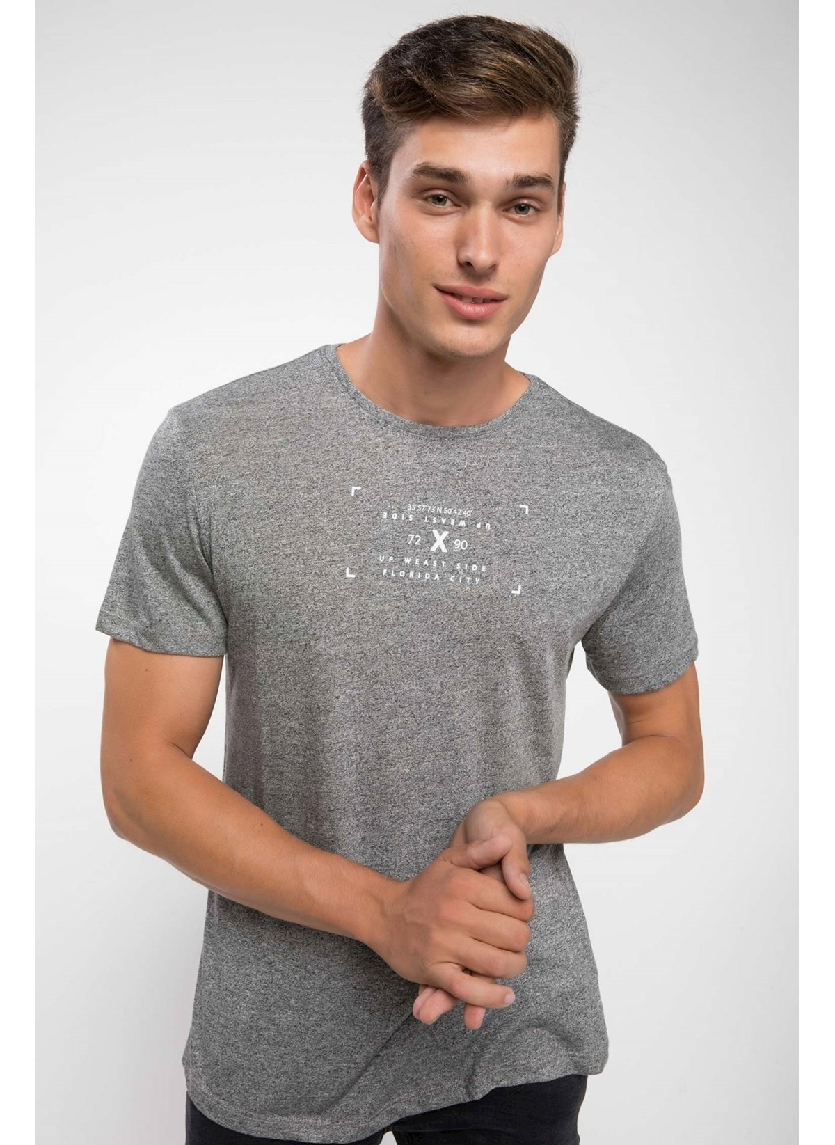 Defacto Mini Yazı Baskılı Slim Fit T-shirt K1109az18hsar144t-shirt – 29.99 TL